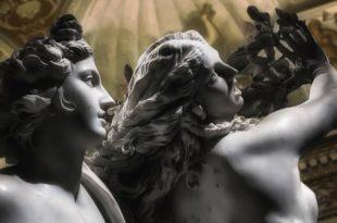 Sculpture Apollon et Daphné