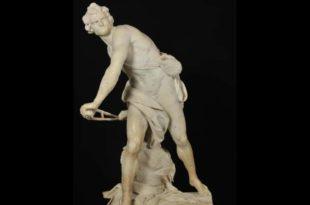 La statue David par Giovanni Lorenzo Bernini