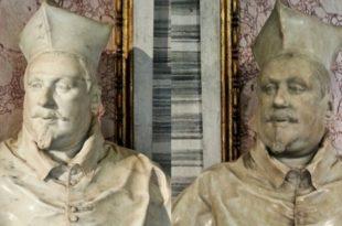 Deux bustes du cardinal Scipione Borghèse
